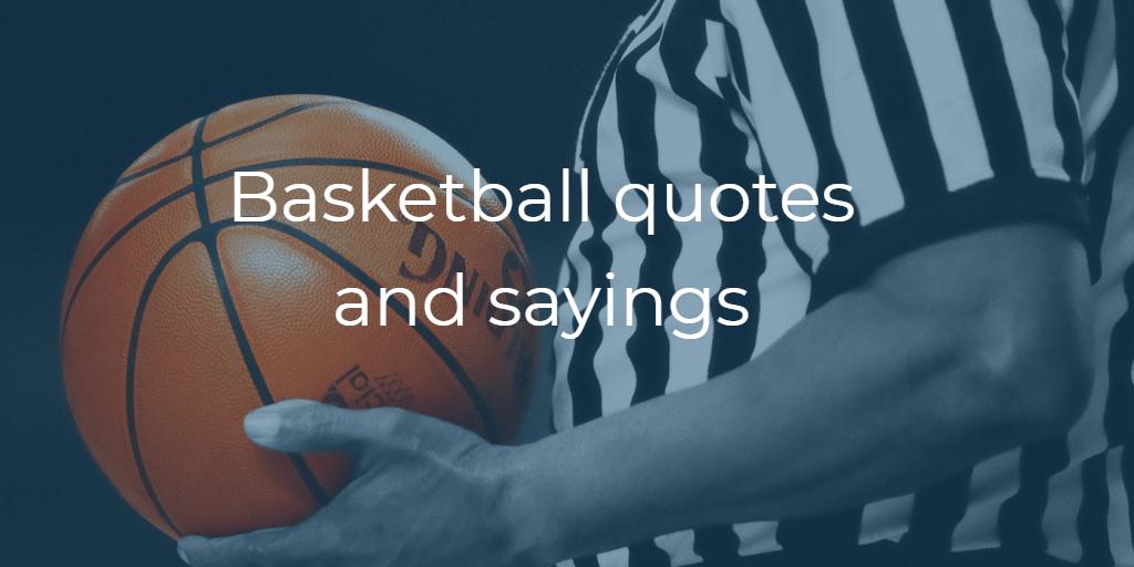 Basketball quotes and sayings. Basketball referee